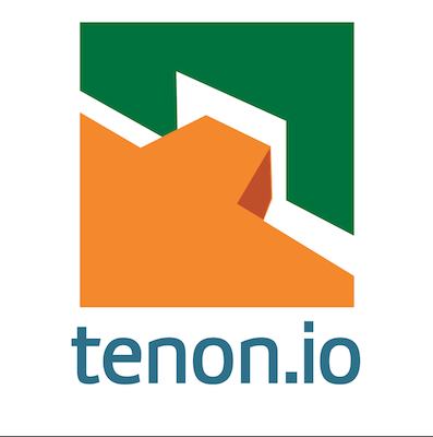 The logo for Tenon